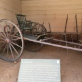 A Riding Chair similar to what George Washington used on the rough Virginiaterrain