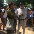 Two actors from the Revolutionary time at Mount Vermont