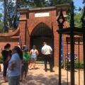 George Washington's new brick tomb built in1831