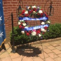 Daily wreath-laying ceremony at George Washington's tomb