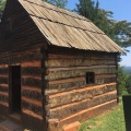 One of the cabins where the slaveslived