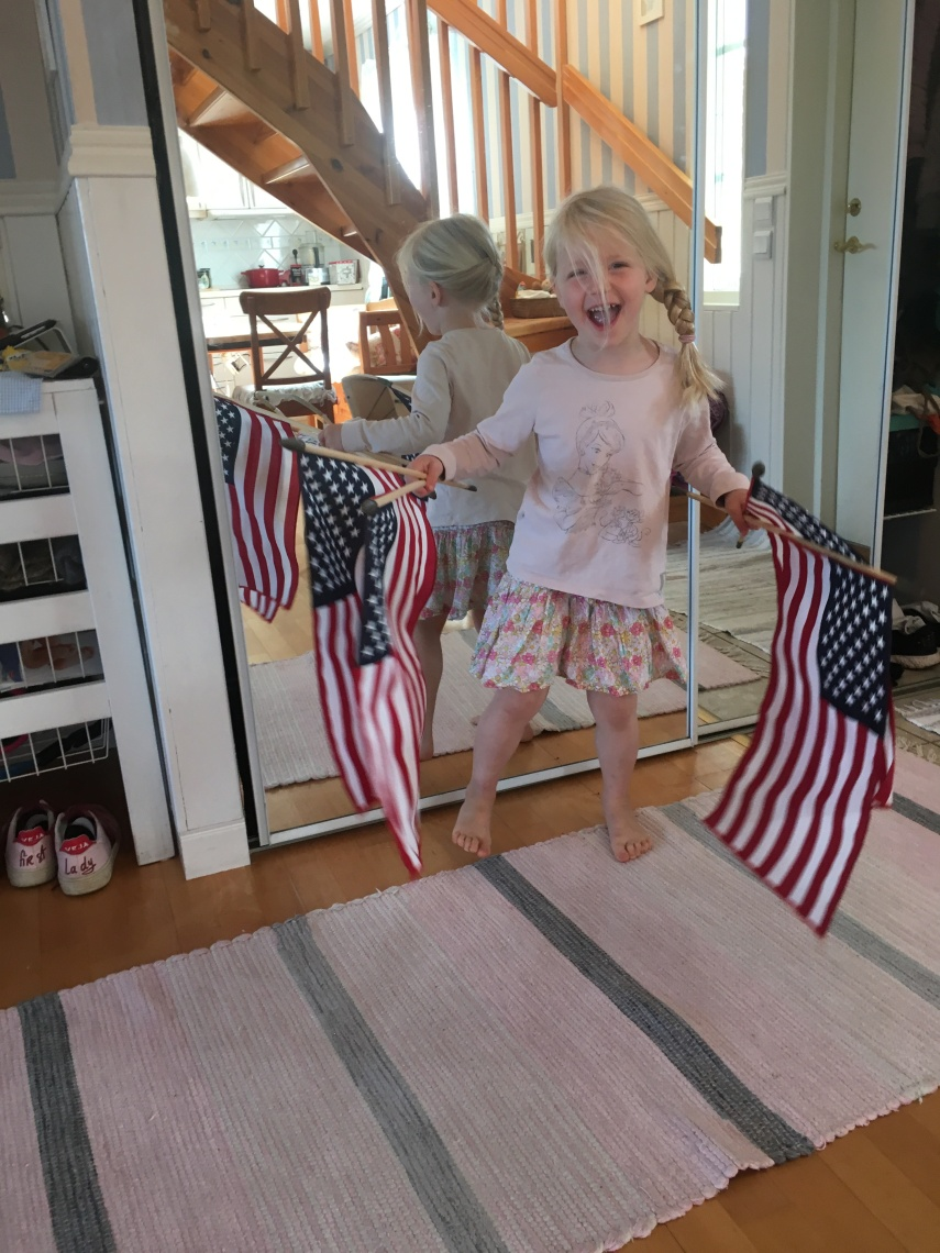Our granddaughter celebrated the Fourth of July