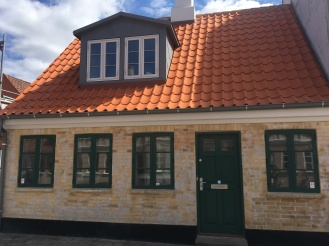 A renovated house in central Odense close to Hans Christian Andersen's house
