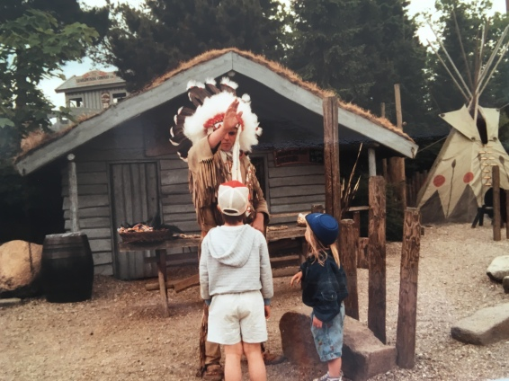The Indian Chief in Legoland 1989
