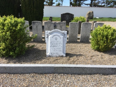 Seven allied airmen buried here from 29 August 1944 from a bomb raid in Königsberg Preussen,
