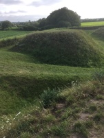 A small part of the defence line Dannevirke from the Wiking period