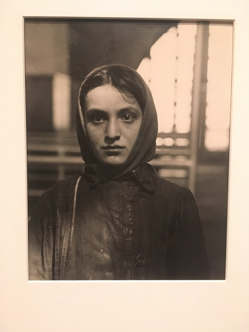 Young Jewess Arriving at Ellis Island by Frank Manny 1905