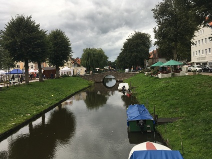 One of the many canals in Friedrichstadt taken from another trip September 2018
