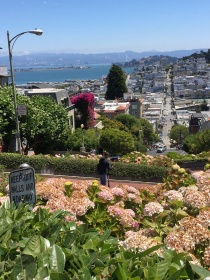 "Lombard Street, ""The World's Crookedest Street"""