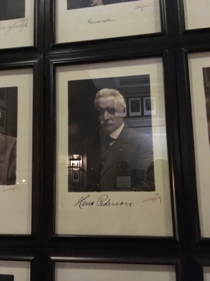 A photo of Hans Pederson inside the Arctic Club