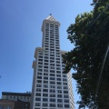 Smith Tower in Seattle. A landmark from 1914. The oldest skyscraper in the city at the time