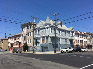 Webster Street, Cow Hollow close to Fillmore and Lombard Street