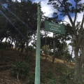 Pioneer Park sign on the way to CoitTower