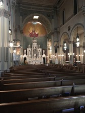 Inside Saint Peter & Paul Roman Catholic Church