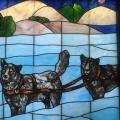 Dog Sled is the best way to get around the Klondike inWinter.