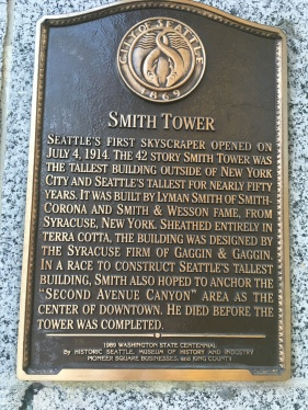 Description of Smith Tower built 1914