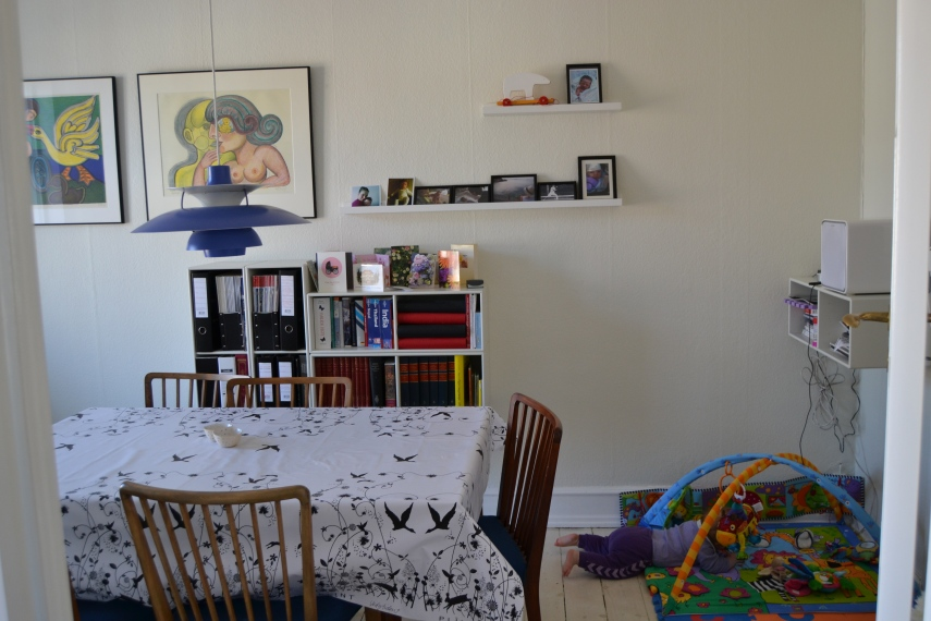 In 2011, the table and chairs were back to a flat near to their start in Oesterbro Copenhagen.