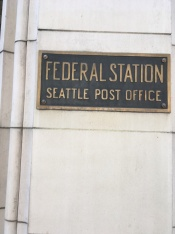 Federal Station at 2nd Avenue and Madison St.