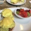 Egg Benedict inPortland