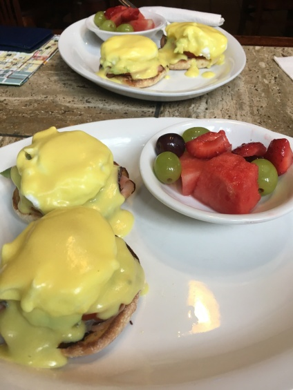 Egg Benedict in Portland