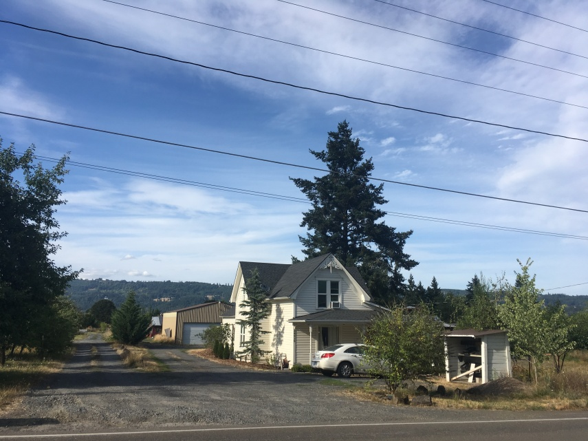 A house near Washington Park in Oregon