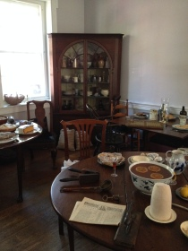 An example of the American Founders' dining in the Gatsby's Tavern
