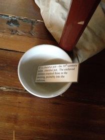 Info about a chamber pot