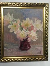 Susette Cathrine Holten, nee Skovgaard (1863-1937) Flowers