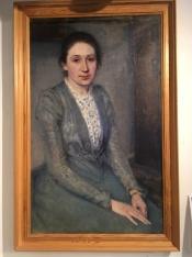 Artist Johanne Krebs' A portrait of Susette Cathrine Holten, nee Skovgaard.