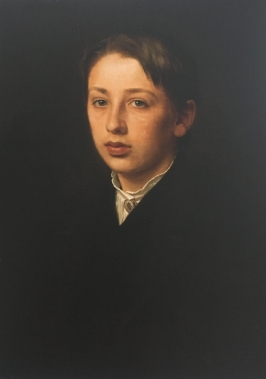 P.C. Skovgaard painting of his fourteen years old son, Joakim Skovgaard in 1871