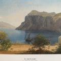 P.C Skovgaaard Landscape at Capri, Italy1869