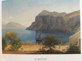 P.C Skovgaaard Landscape at Capri, Italy 1869