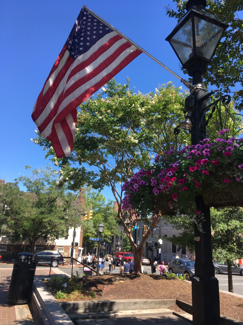 Market Square at the Alexandria City Hall