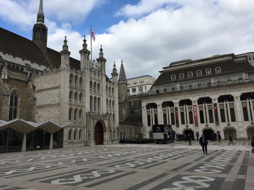 Guildhall and Guildhall Art Museum, City of London