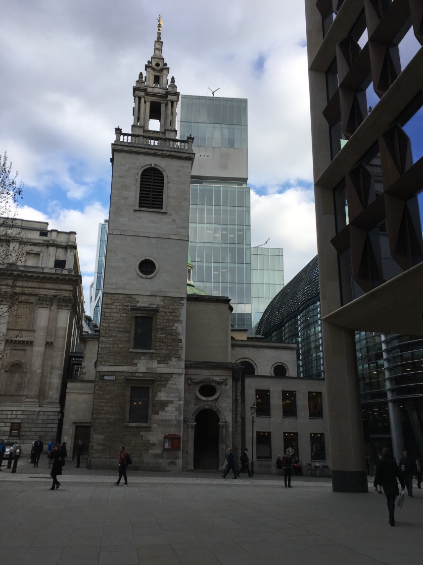 St Stephen Walbrook created by Christopher Wren