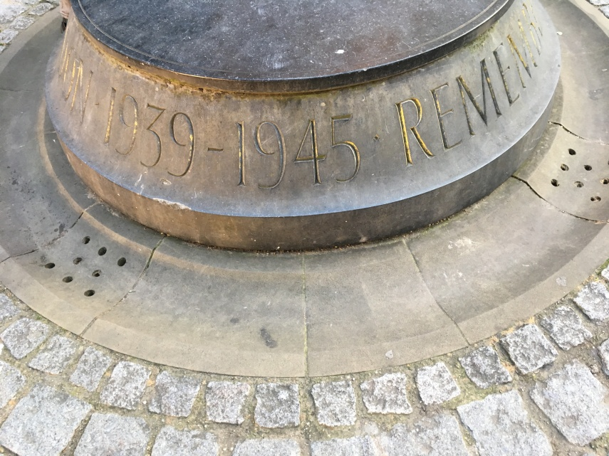 A memorial from WWII at St. Paul's Cathedral