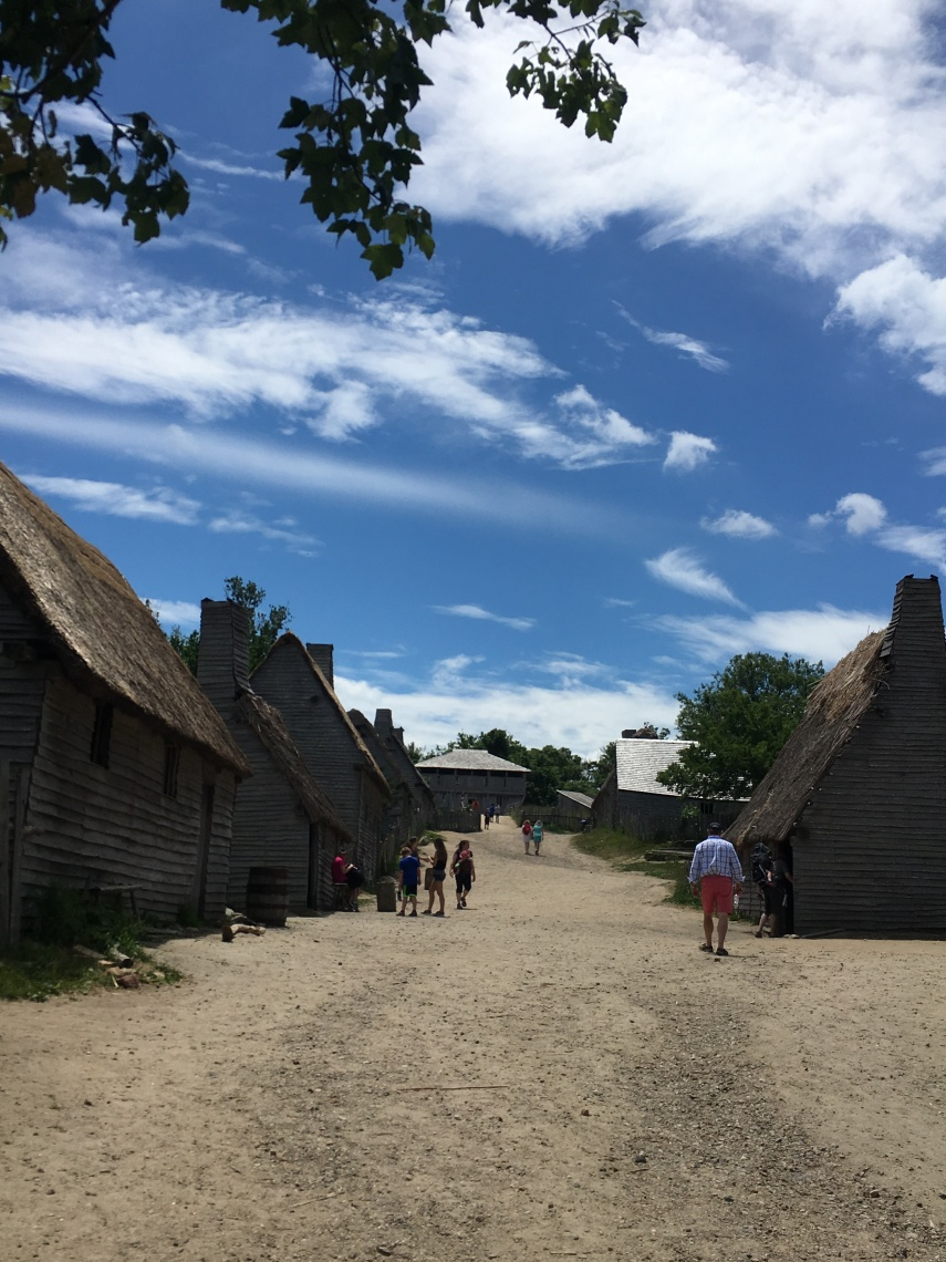 A view at the Plimoth plantation Museum