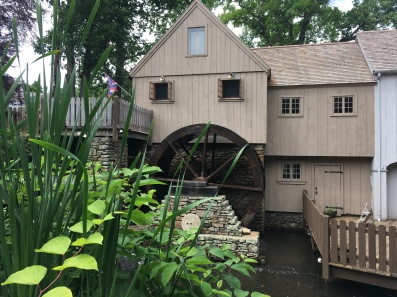 the Grist Mill in Plymouth