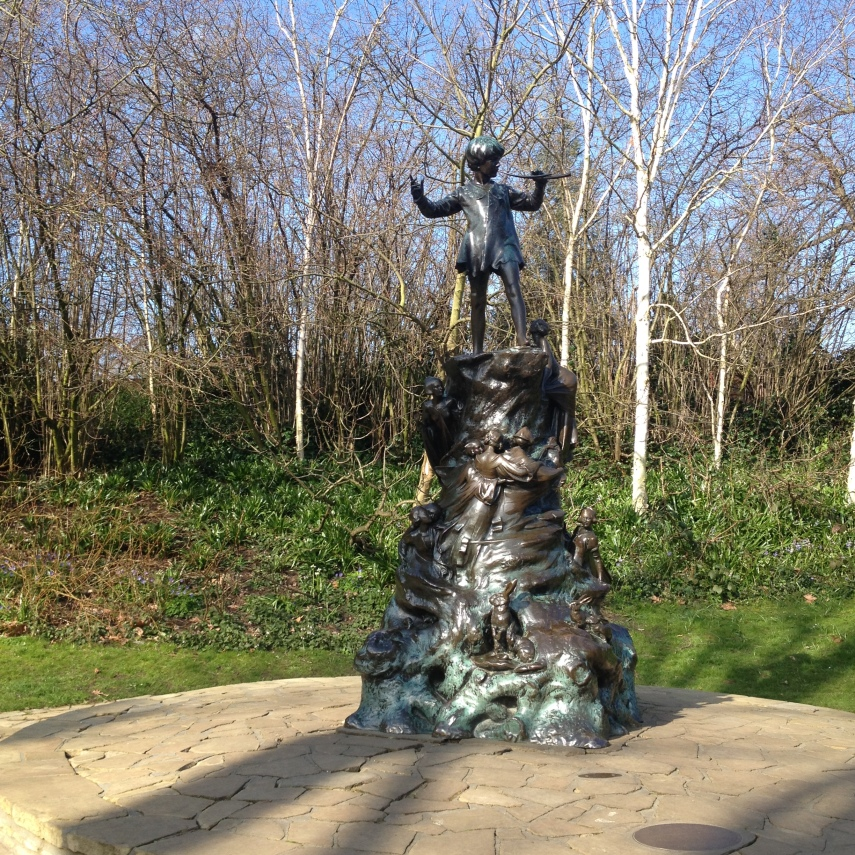 Peter Pan statue in Kensington Garden
