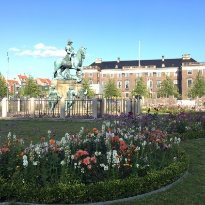 The inner part of Kgs. Nytorv, The King's New Square in Copenhagen