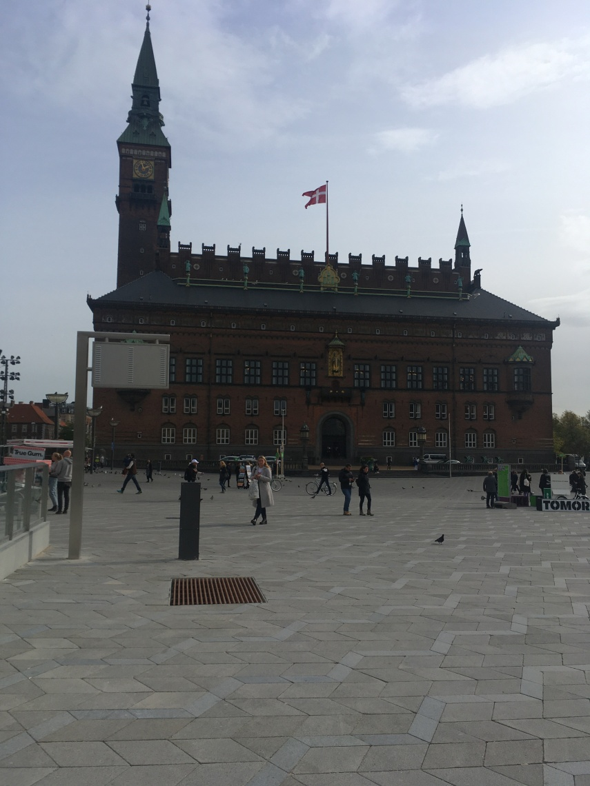 The Town Hall Square of Copenhagen.