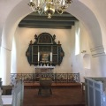 The alter from 1700 in VedsersoeChurch