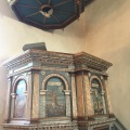 The pulpit from 1615 of Vedersoechurch