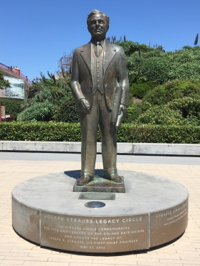 Joseph Strauss Legacy Circle at the Golden Gate Historical Park and Visitor Center