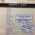 A supply list for your miningequipment