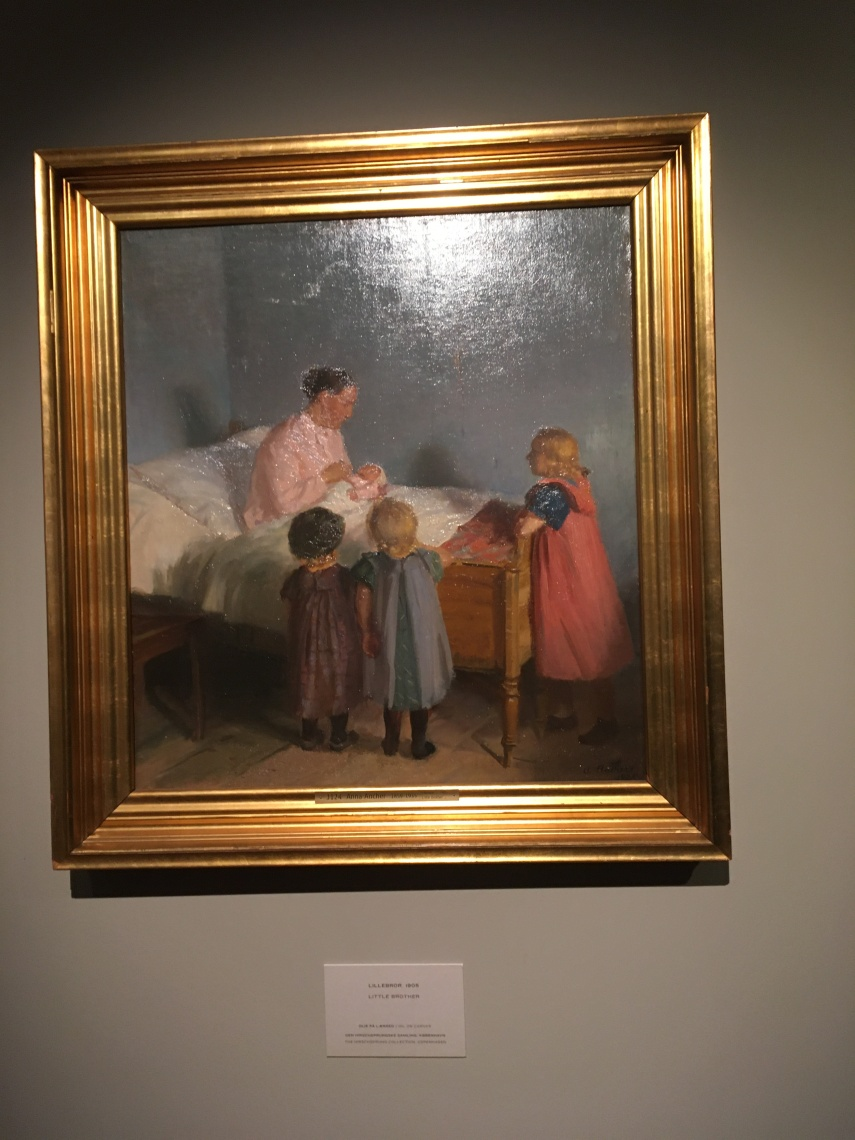 A newborn brother 1905 by Anna Ancher (1859-1935)