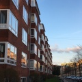 Flats in Copenhagen from the 1930s in Art Deco style or FunkisStyle