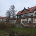 The old part of Bispebjerg hospital (1913), where I trained to become a nurse. The buildings arepreserved.