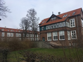 The old part of Bispebjerg hospital (1913), where I trained to become a nurse. The buildings are preserved.