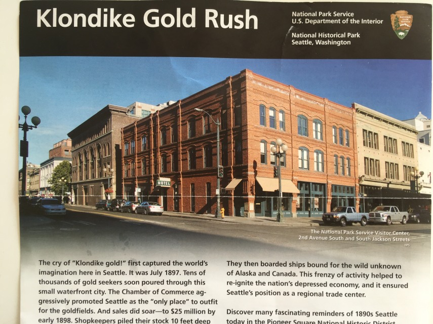The Klondike Gold Rush Museum in Historic Cadillac Hotel at  S Jackson and 2nd Av, Seattle